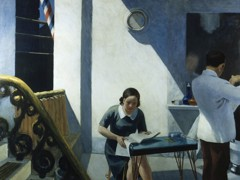 Barber Shop by Edward Hopper