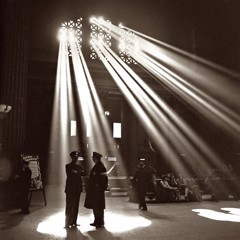 Union Station Chicago 1943 by Bw Photography