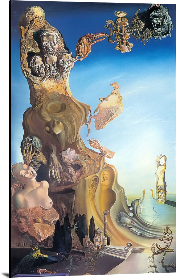 Imperial Monument Tto The Child Woman by Dali