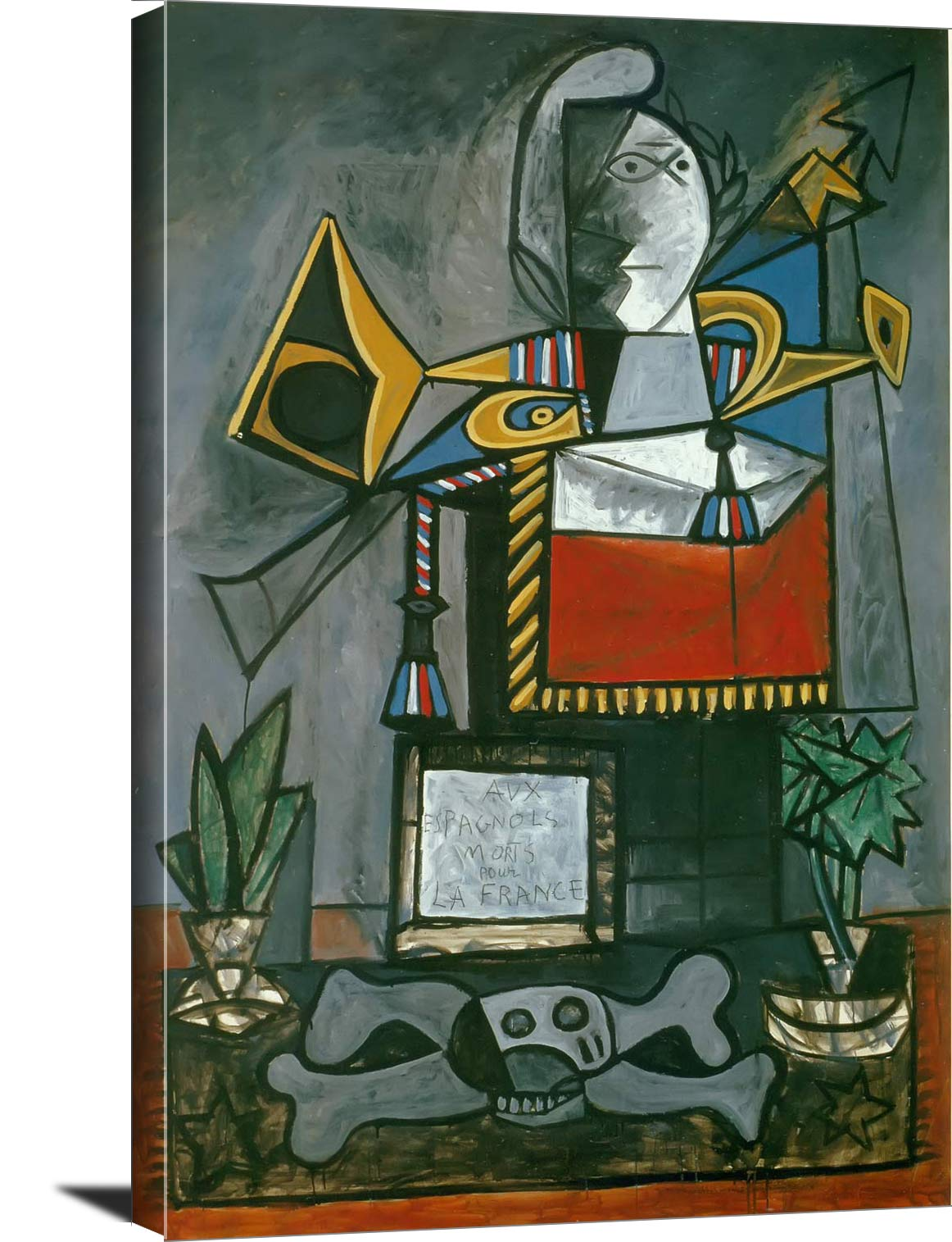 Monument To The Spanish Who Died For France 1946 Pablo Picasso