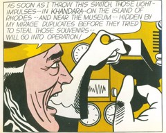 Mad Scientist by Roy Lichtenstein