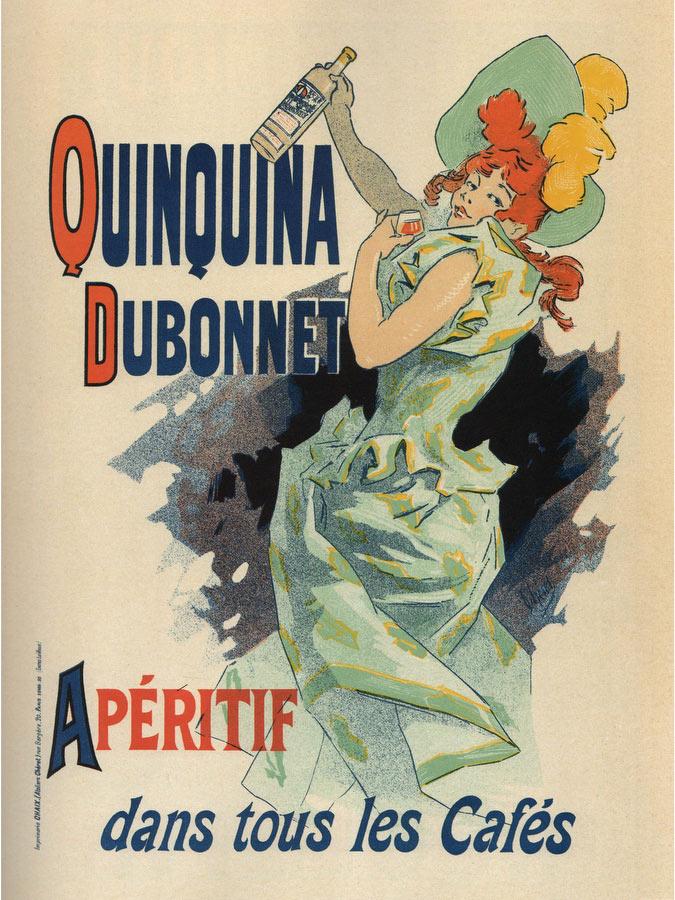 Quinquina Dubonnet Jules Cheret - Les Maitres De L Affiche