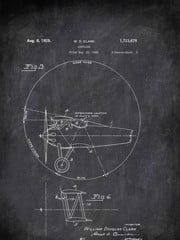 Airplane W D Clark 1929 3 Transportation by Patent