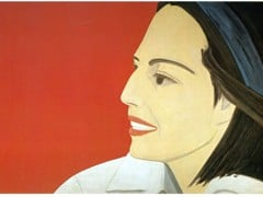 The Red Smile 1963 by Alex Katz