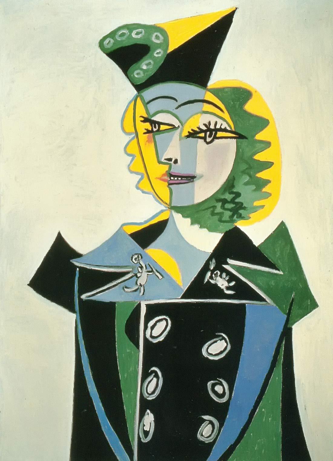 Portrait Of Nusch Eluard Pablo Picasso