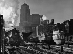 Andreas Feininger Union Station Chicago by Bw Photography