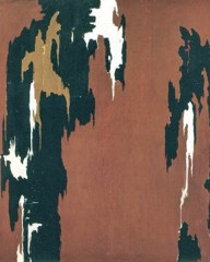1946 H by Clyfford Still
