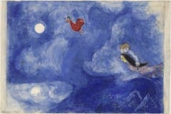 Aleko And Zemphira Marc Chagall