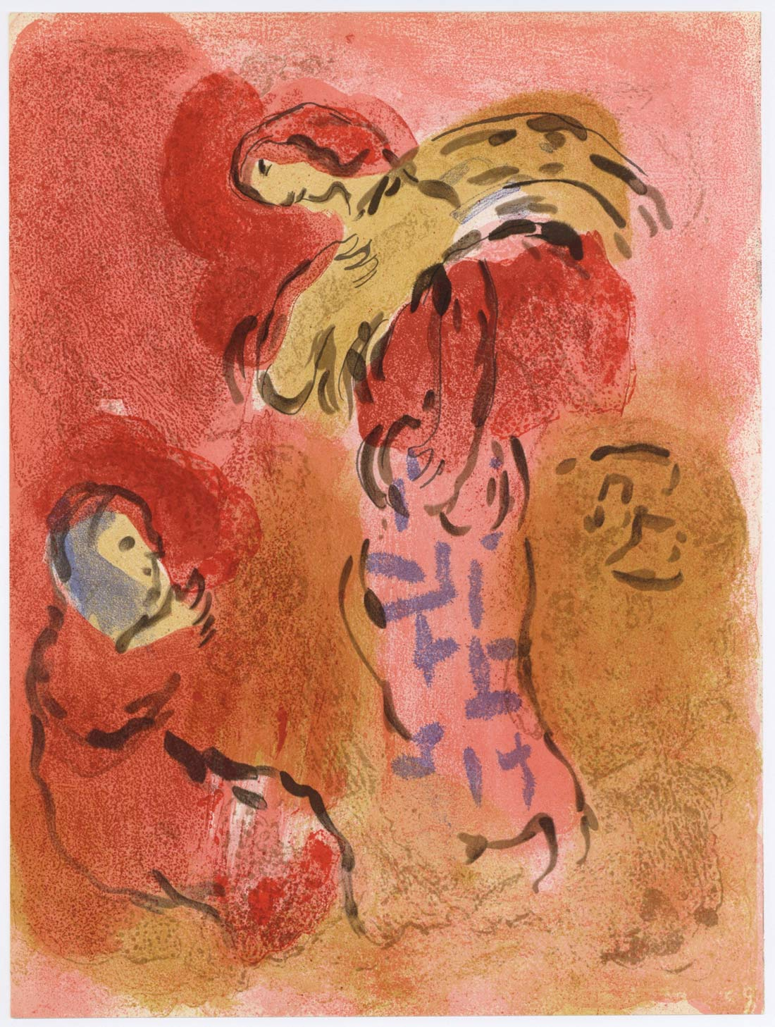 Ruth Gleaning Marc Chagall