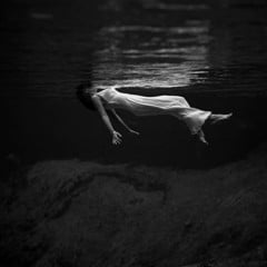 Lady In The Water 1947 by Bw Photography