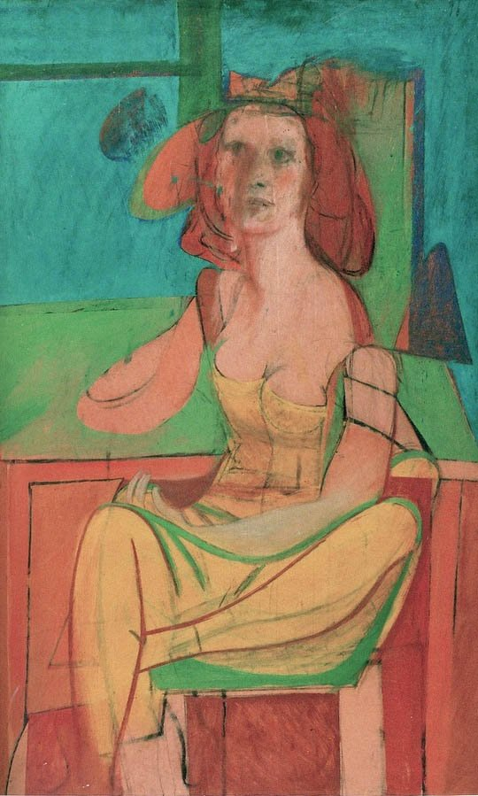 "Fine Art Print 24/"" x 18/"" Willem de Kooning Woman I"