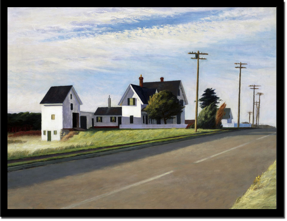 Route 6 Eastham by Edward Hopper
