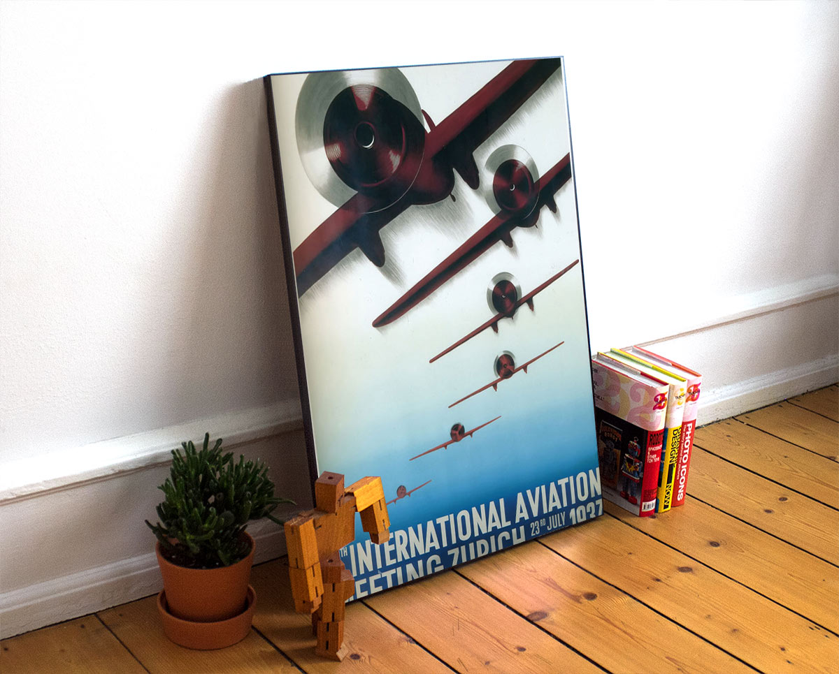 22aviation Art Deco Poster
