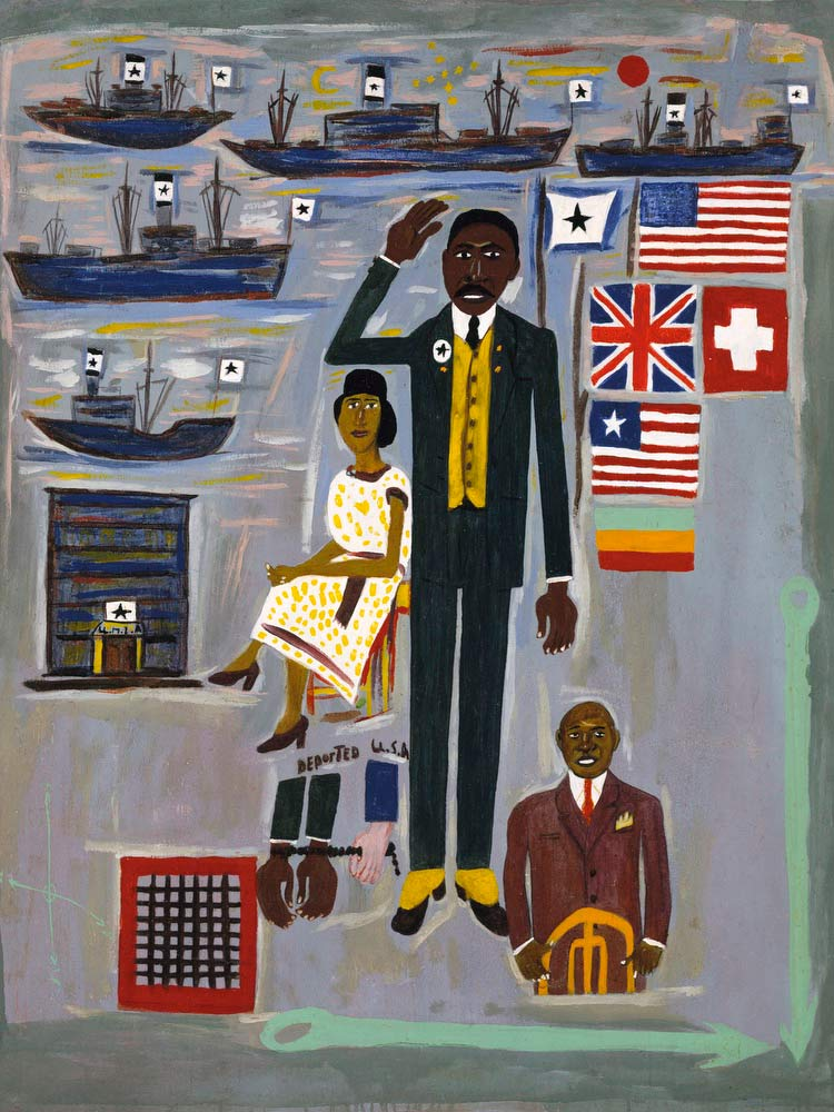 Marcus Garvey William H Johnson