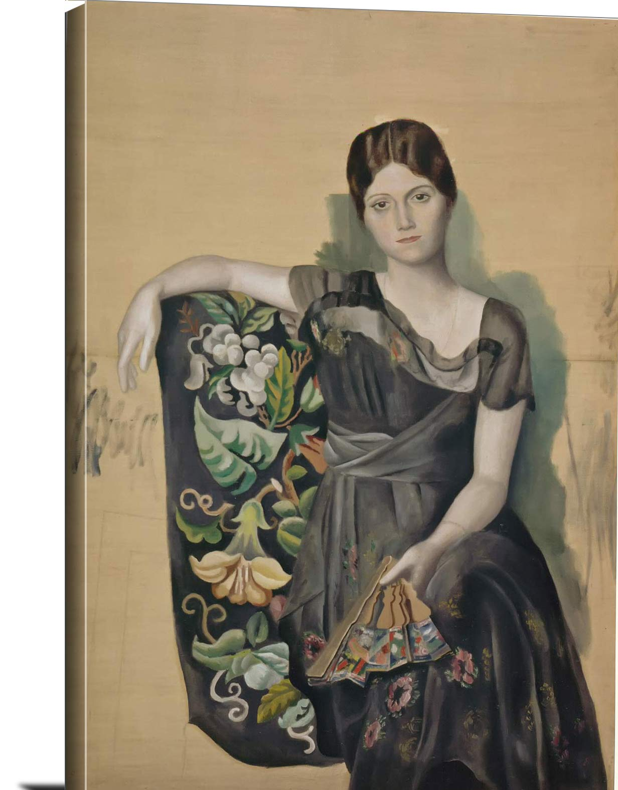 Portrait Of Olga In An Armchair Pablo Picasso