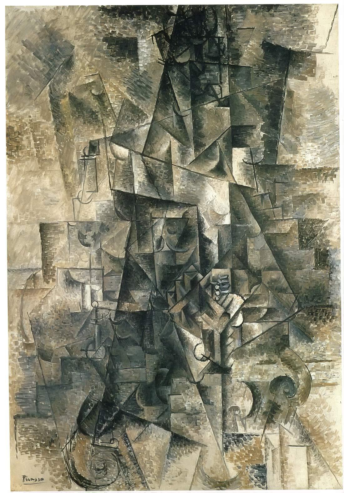 Accordionist Pablo Picasso