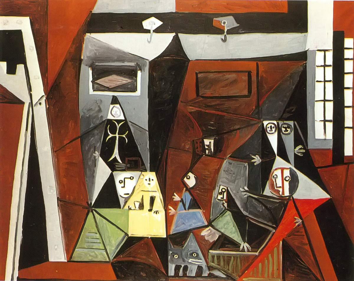 Las Meninas 3 Pablo Picasso