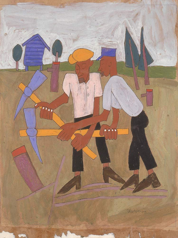New Land Breaking William H Johnson