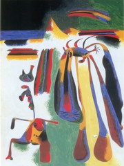 Catalan Peasant Resting 1936 by Joan Miro