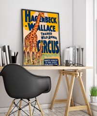 57wpa Circus Vintage Advertisement Poster