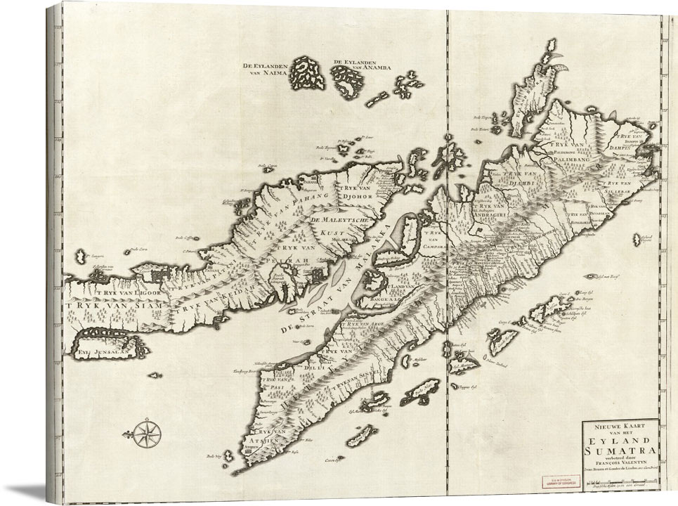 Sumatra (Indonesia) Maps Early Works To 1800 - Vintage Asia Maps