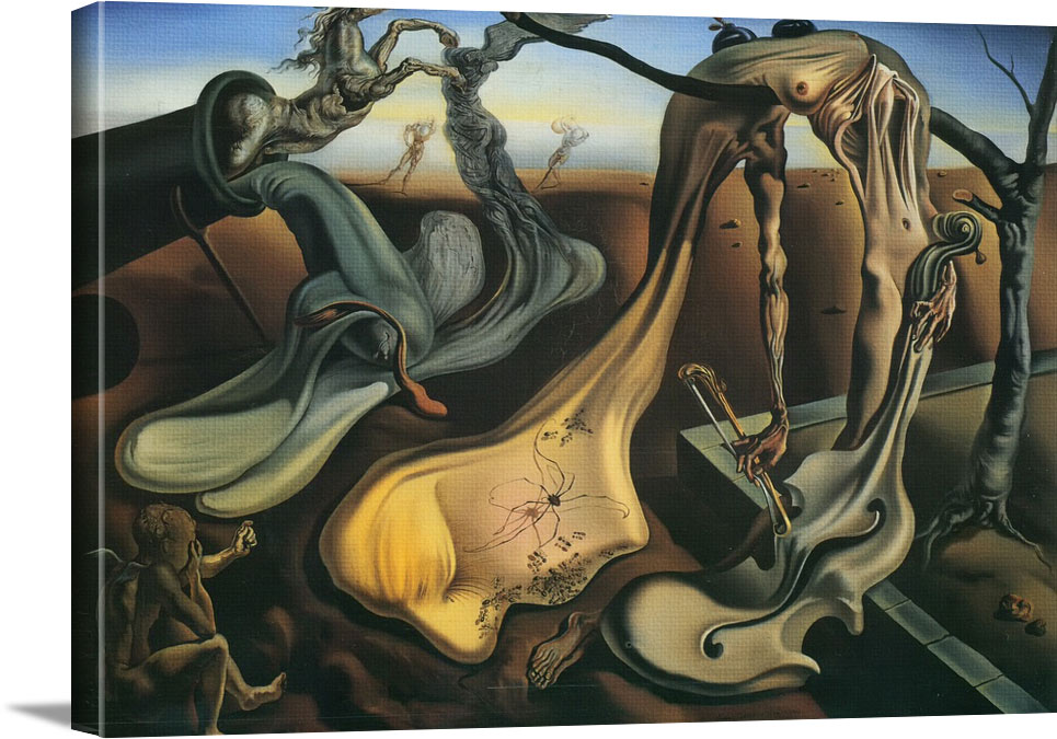 Daddy Longlegs Of The Evening Hope by Dali
