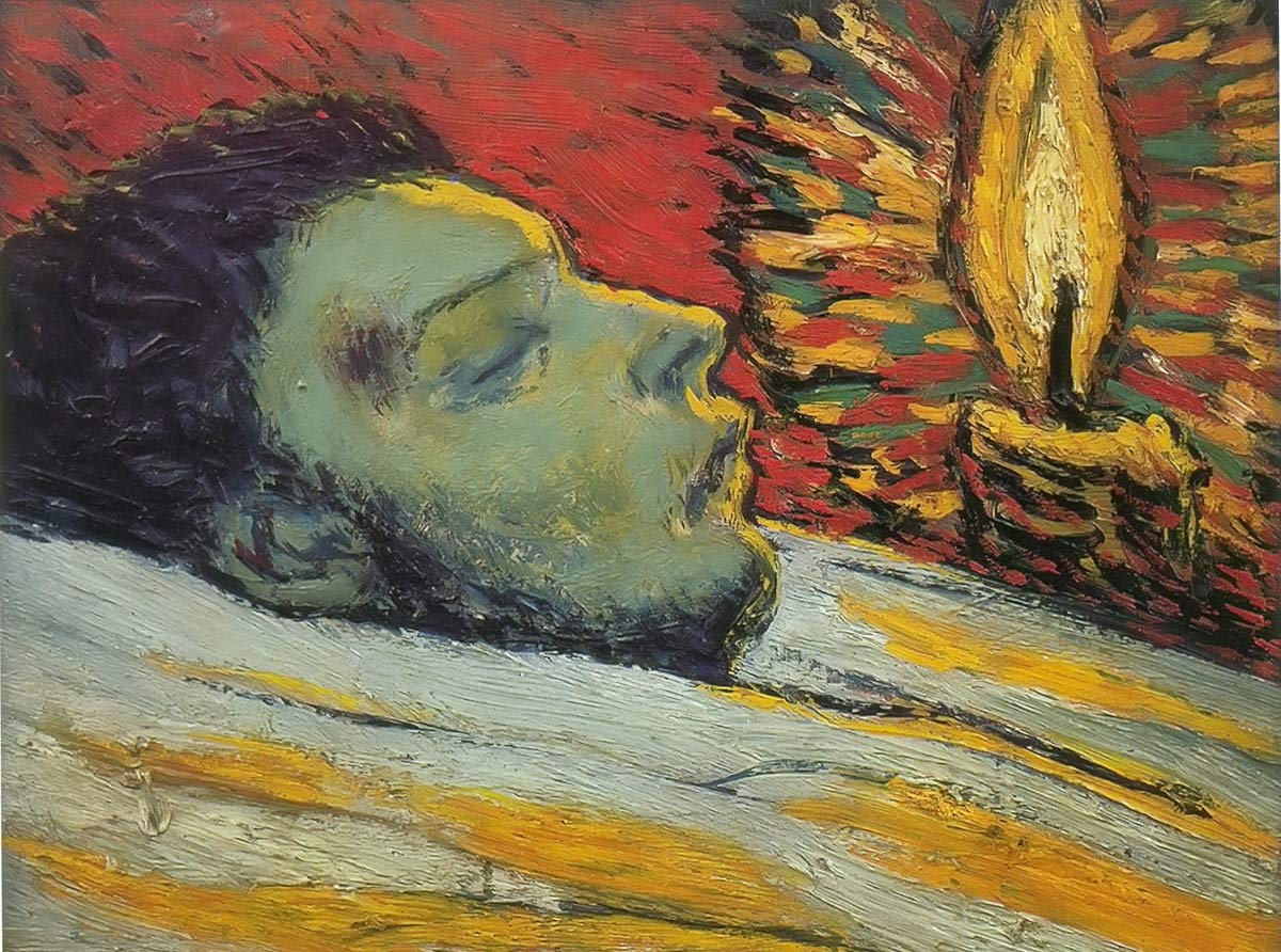 The Death Of Casagemas Pablo Picasso