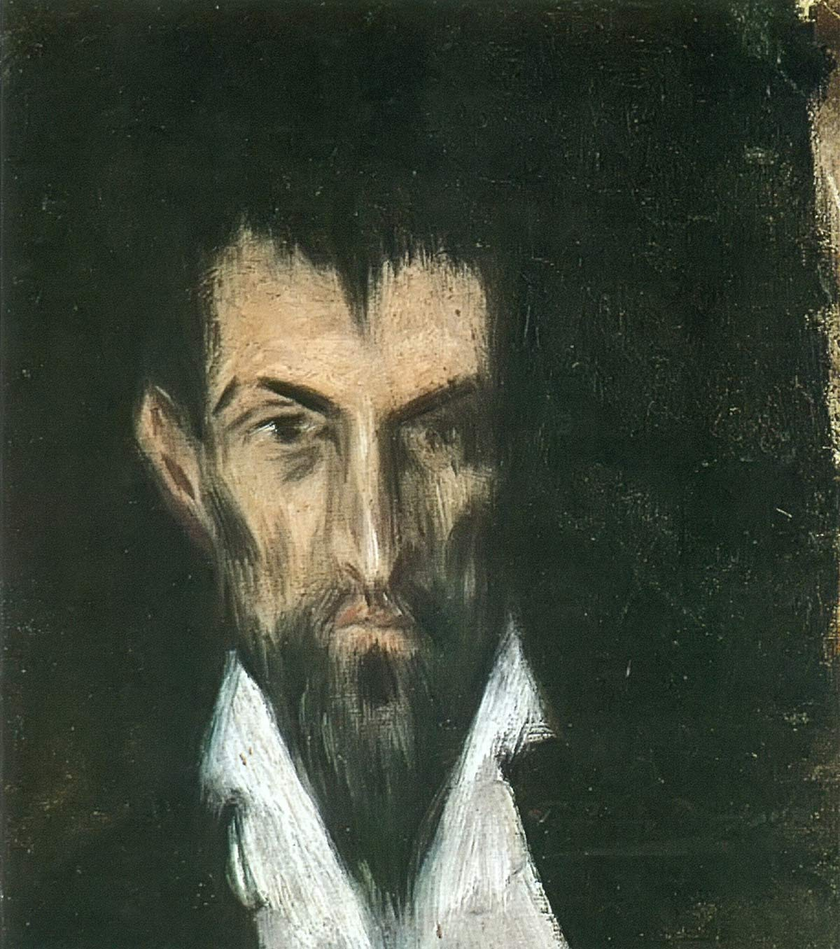 Face In The Manner Of El Greco Pablo Picasso