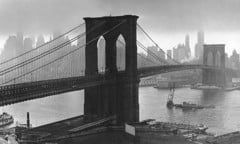 Brooklyn Bridge New York 1946 by Bw Photography