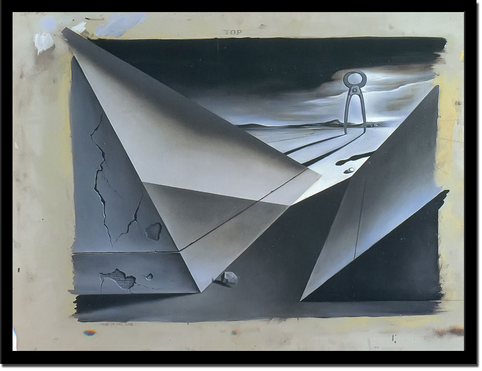 Design For The Movie Spellbound by Dali