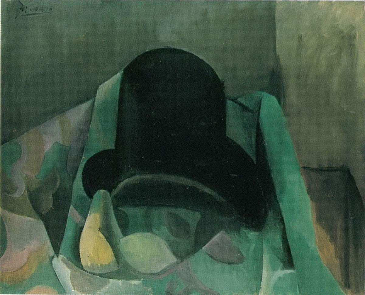 Still Life With Hat Pablo Picasso