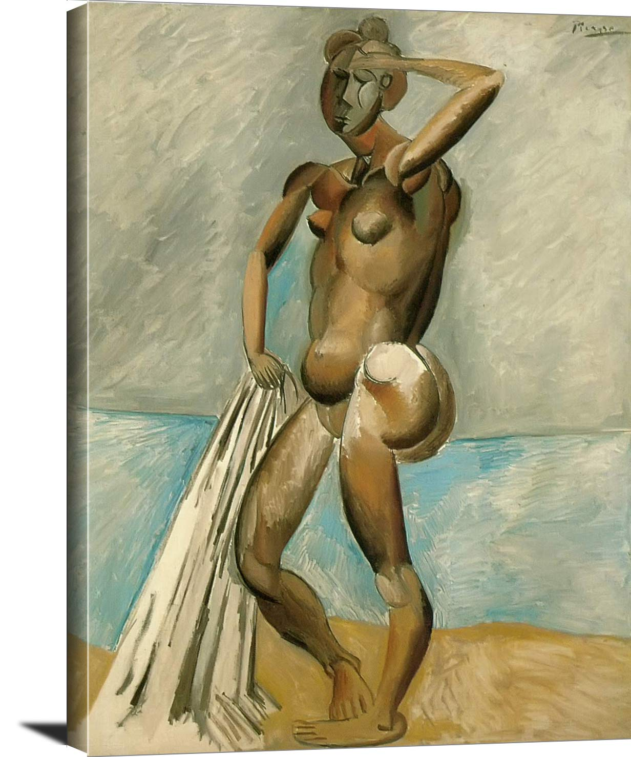 Large Nude At The Waters Edge Pablo Picasso