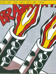 Brat At At by Roy Lichtenstein