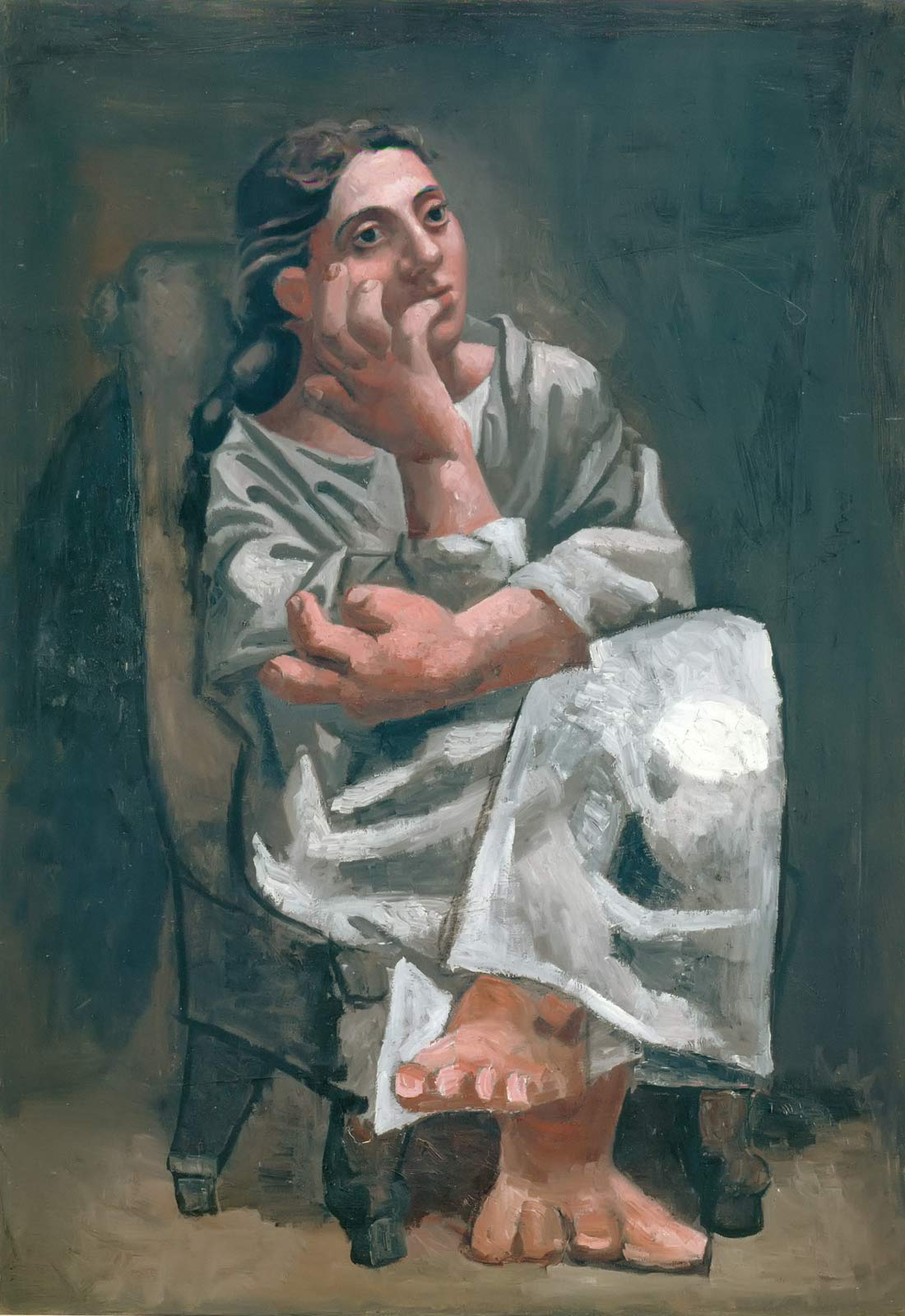 Seated Woman 1920 Pablo Picasso