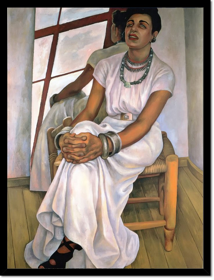 Portrait Of Lupe Marin by Diego Rivera
