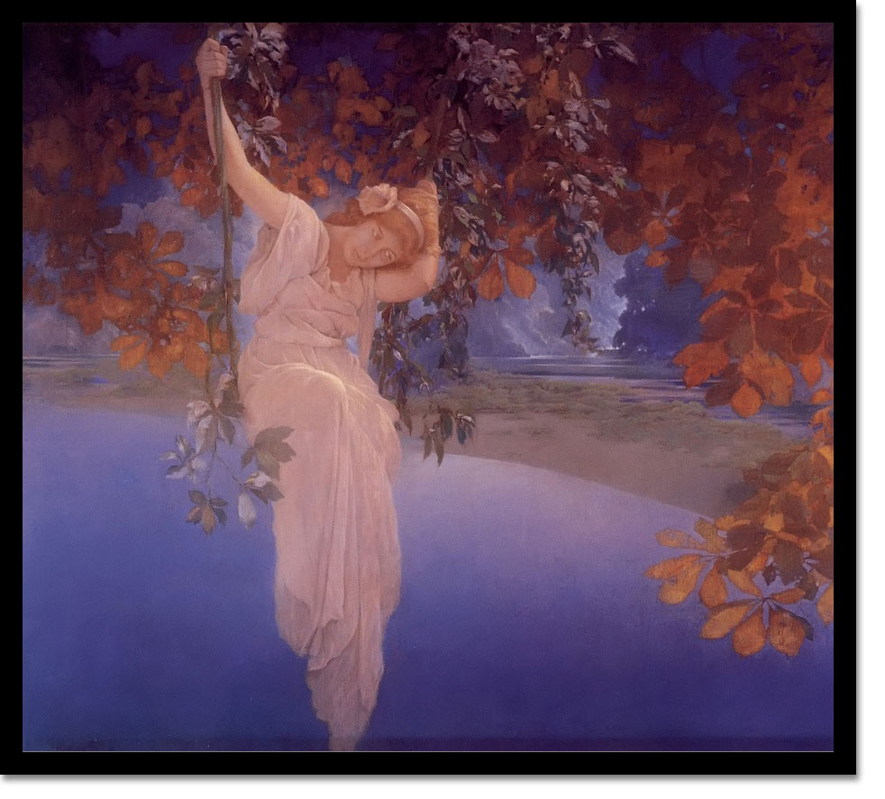 Reveries by Maxfield Parrish