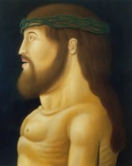 Christ by Botero