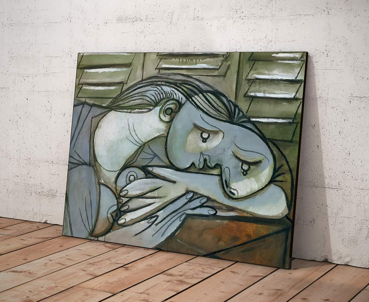 Sleeping Woman With Shutters 1936 Pablo Picasso