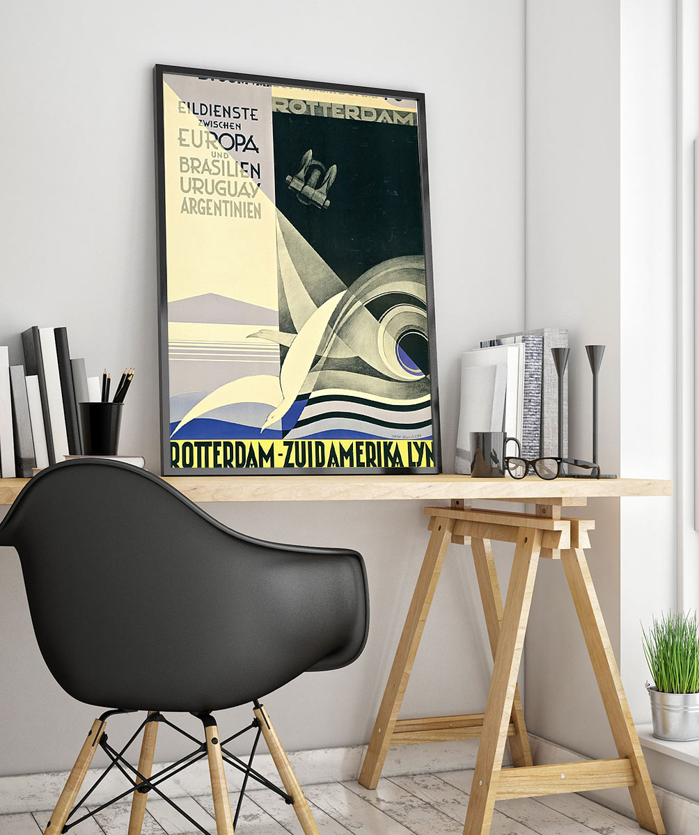 23racing Art Deco Poster