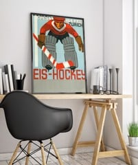 24leisure Art Deco Poster