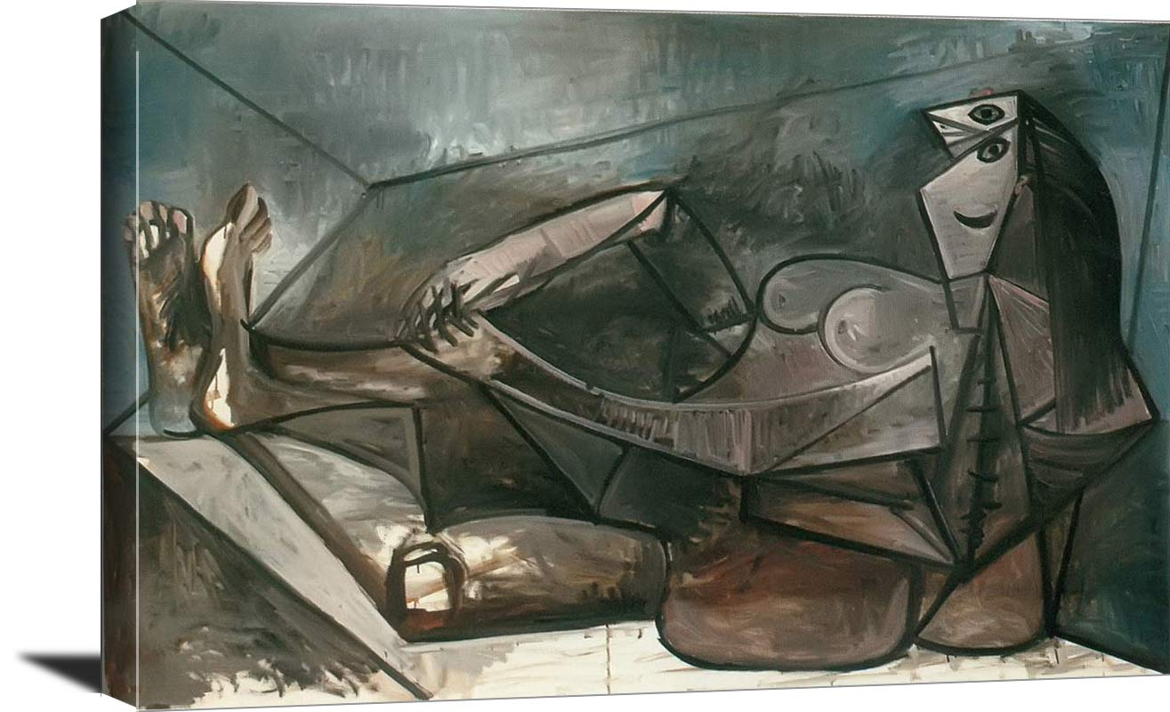 Large Nude Reclining 1943 Pablo Picasso