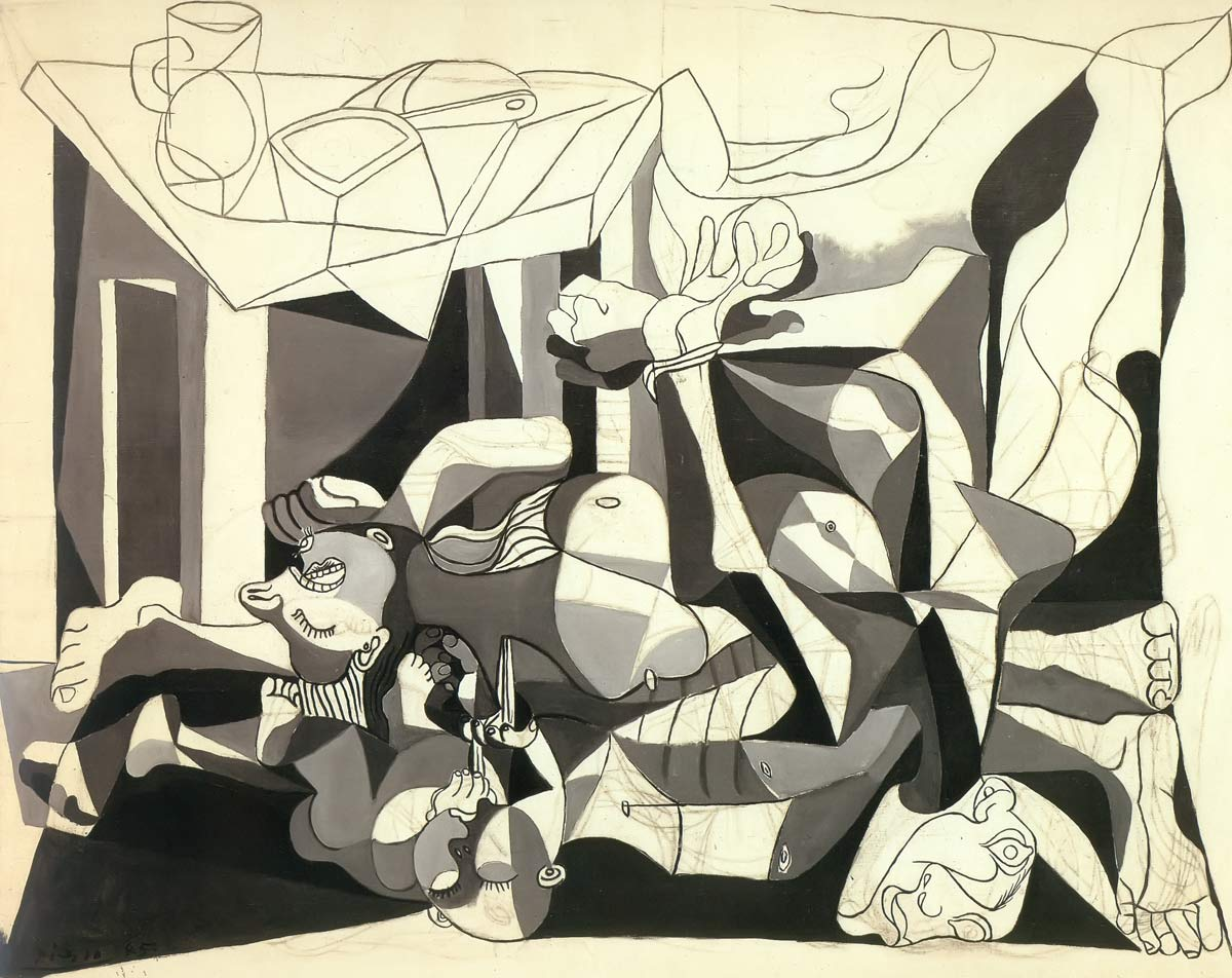 The Charnel House 1945 Pablo Picasso