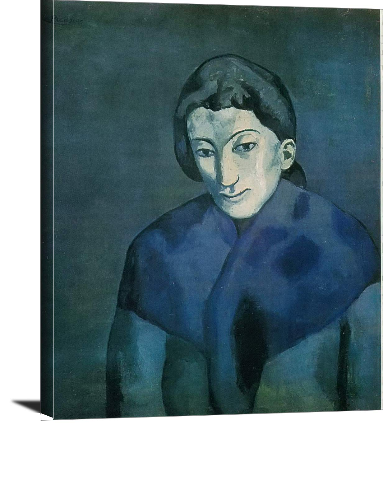 Woman With A Scarf Pablo Picasso