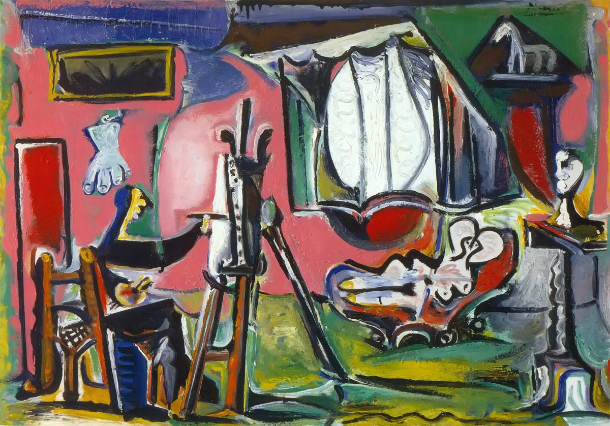The Painter And His Model 1963 3 Pablo Picasso