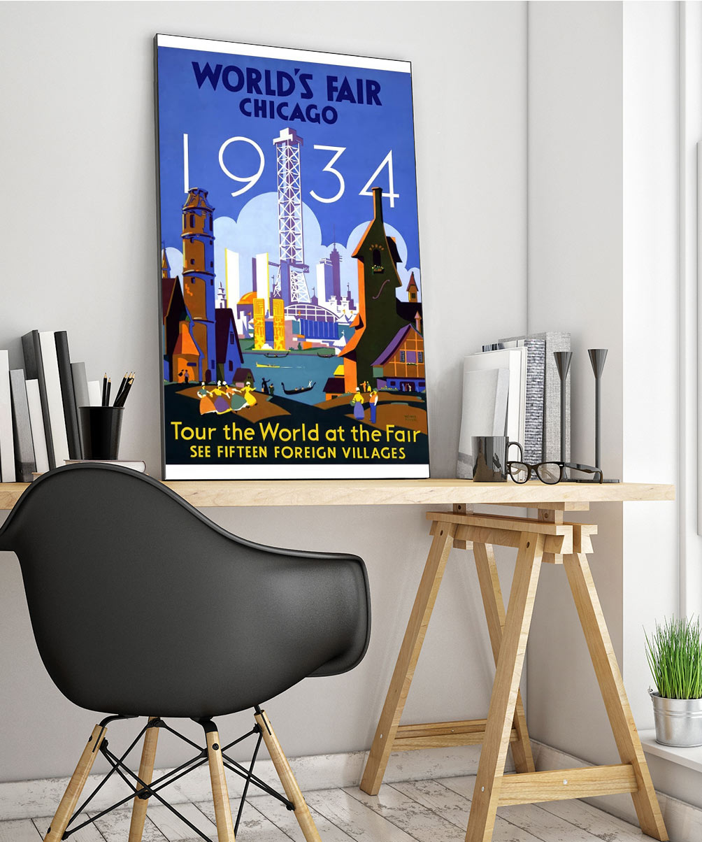 5wpatravelg Vintage Advertisement Poster