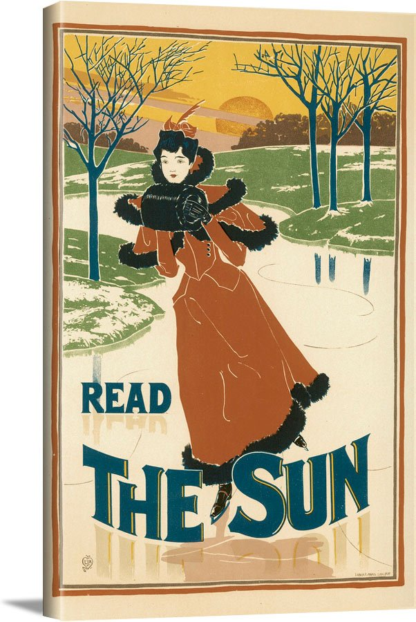 Read The Sun Louis Rhead - Les Maitres De L Affiche