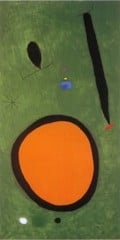 Bird's Flight In Moonlight 3 10 1967 by Joan Miro