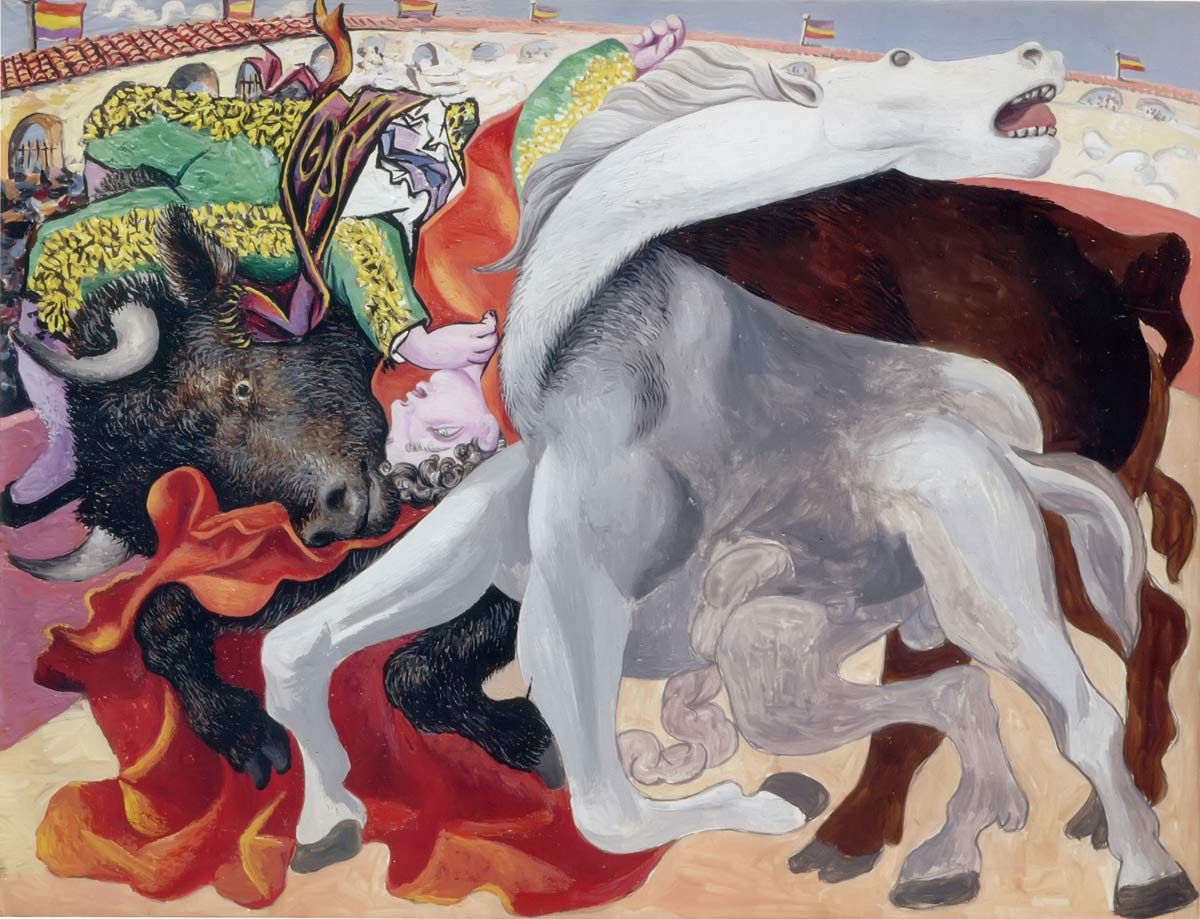 Bullfight Death Of The Tereador Pablo Picasso