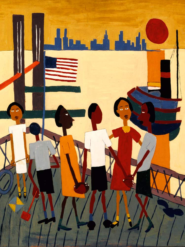 Ferry Boat Trip William H Johnson