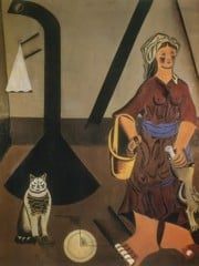 Interior ( The Farmer's Wife) 192223 by Joan Miro